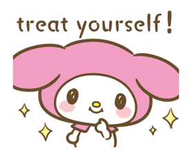 My Melody: Sweet as Can Be! Stickers 17