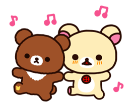 Rilakkuma~Korilakkuma with a new friend~ Stickers 13