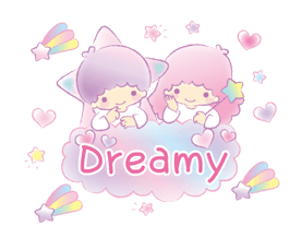 Little Twin Stars: Dreamy Klistermärken 24