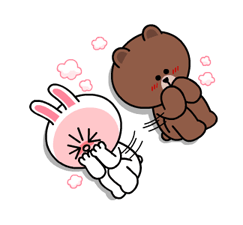 Brown & Cony's Heaps of Hearts! Stickers 13