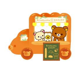 Rilakkuma: Freshly Baked Fun Stickers 13