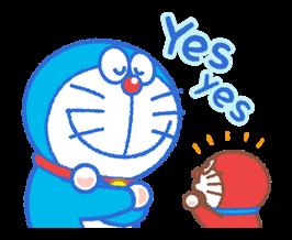 Doraemon & Dorami స్టికర్లు 13
