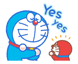 Doraemon & Dorami klistremerker 13
