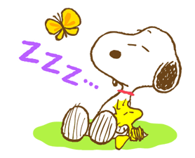 Super Spring Snoopy Stickers 13