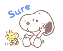 Lovely Snoopy at Work Stickers 13