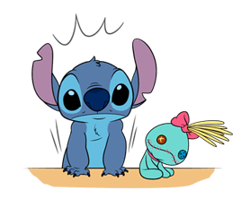 Stitch & Scrump Stickers 13