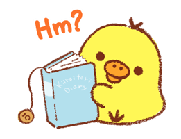 Adesivi Rilakkuma ~ Kiiroitori Diary ~ 13