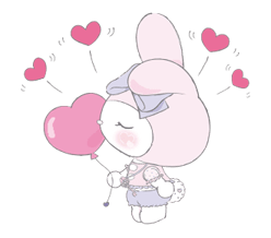 LARME x My Melody Stickers 13