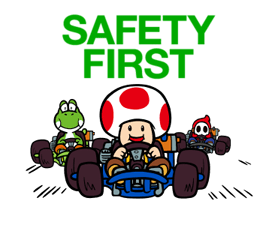 Mario Kart Stickers 13