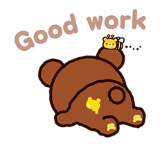 Rilakkuma: Chairoikoguma Stickers 13