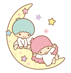 Little Twin Stars Sparkling Stickers 17