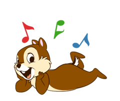 Chip 'n' Dale 2 Stickers 13