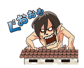 Attack on Titan Stickers 13