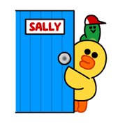 Go Go Tomboy Sally! Stickers 13