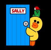 Go Go Tomboy Sally! stickers 13