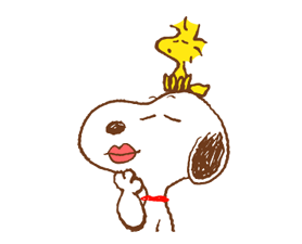 SNOOPY & Woodstock Stickers 15