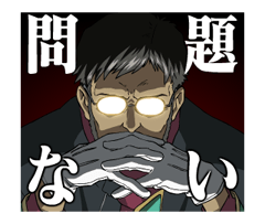 EVANGELION Stickers 13