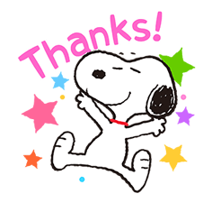 SNOOPY Stickers 14