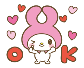 My Melody: Sweet as Can Be! Stickers 18