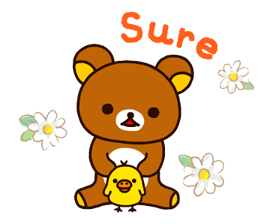 Rilakkuma~Korilakkuma with a new friend~ Stickers 14