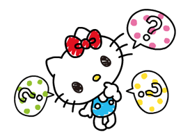 Hello Kitty's Quick Replies! Stickers 14