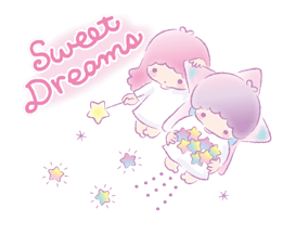 Little Twin Stars: Dreamy Klistermärken 25