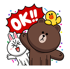 LINE Characters: Overreaction! Stickers 7