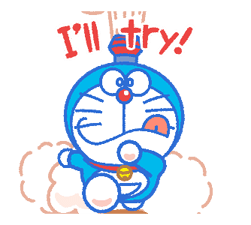 Doraemon's Everyday Expressions Stickers 14