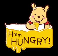 Winnie the Pooh Speech Balloons Stickers 14