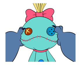 Stitch & Scrump Stickers 14