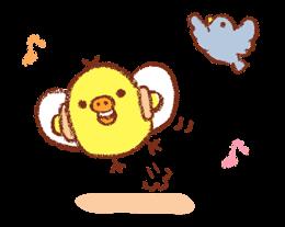 Rilakkuma ~ Kiiroitori Diary ~ Stickers 14