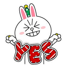 Brown Cony Greeting 14