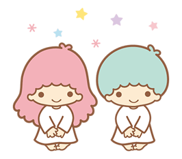 Little Twin Stars Sparkling Stickers 18