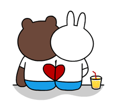 Brown & Cony's Thrilling Date Stickers 14
