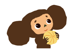 Cheburashka Stickers 13