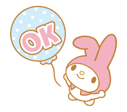 My Melody 2 Stickers 14