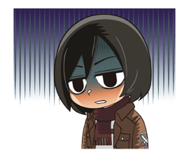 Attack on Titan Stickers 14