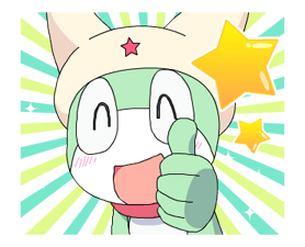 Keroro Stickers 18