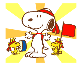 SNOOPY & Woodstock Stickers 1