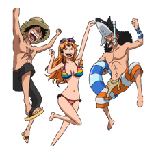 ONE PIECE Commemorative Stickers 15