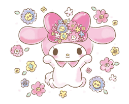 My Melody: Too Cute for You! Stickers 15