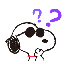 Snoopy in Disguise Stickers 15