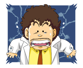 Dr.Slump -Arale Stickers 15