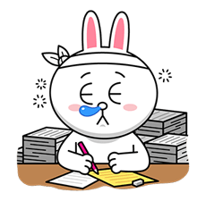 LINE Characters: Overreaction! Stickers 8
