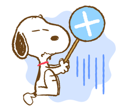 Super Spring Snoopy Stickers 15