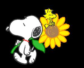 Sweet ਗਰਮੀ Snoopy ਸਟਿੱਕਰ