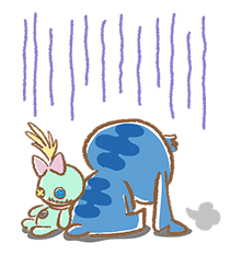 Stitch Cuteness Stickers 15