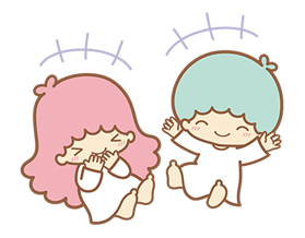 Little Twin Stars Sparkling Stickers 19
