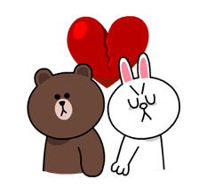 Brown & Cony's Thrilling Date Stickers 15