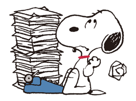 Snoopy ★ Vintage ਸਟਿੱਕਰ 15